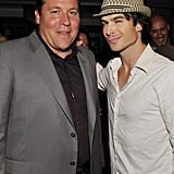 Jon Favreau and Ian Somerhalder