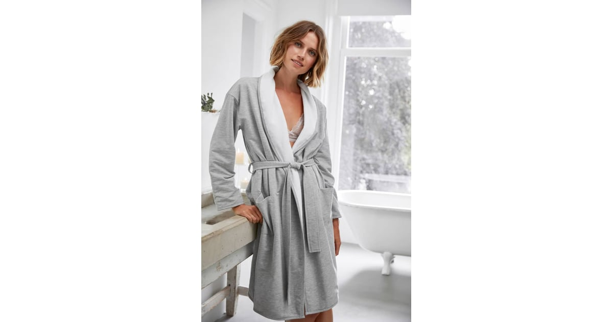 The White Company Double Face Jersey Robe  b58eb80c3