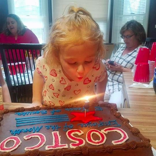 5-Year-Old Throws Costco-Themed Birthday Party