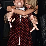 And because Karlie was taken, her BFF Taylor moved on to Nick Grimshaw.