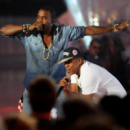 """Jay-Z and Kanye West Pictures Performing """"Otis"""" From Watch the Throne at 2011 MTV Video Music Awards"""