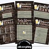 Baby Is Brewing Baby Shower Printable Game Set
