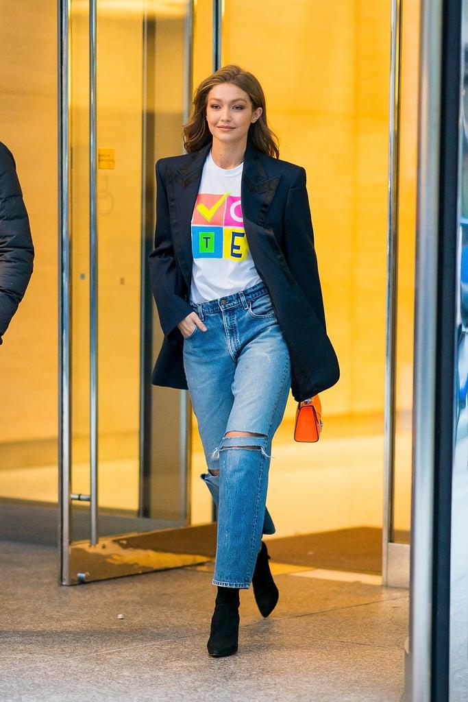 Gigi Hadid Vote T-Shirt