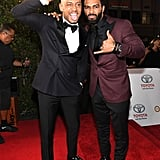 Pictured: Terrence J and Omari Hardwick