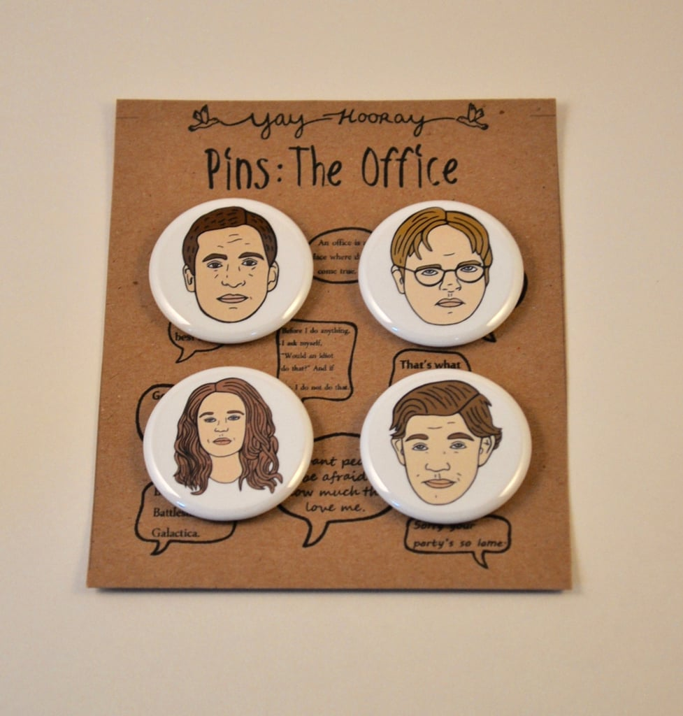 Attrayant The Office Pins ($8)