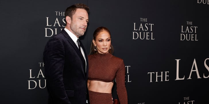 Sorry, Ben, but We Can't Stop Staring at J Lo and Her Ab-Baring Hervé Léger Outfit