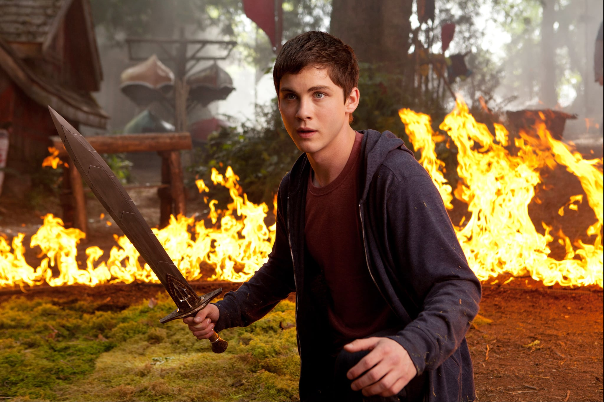 PERCY JACKSON: SEA OF MONSTERS, Logan Lerman, 2013. ph: Murray Close//TM and Copyright/20th Century Fox. All rights reserved./Courtesy Everett Collection