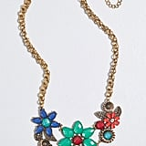 Botanical Plans Statement Necklace