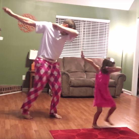 Dad and Daughter Dance to Justin Timberlake