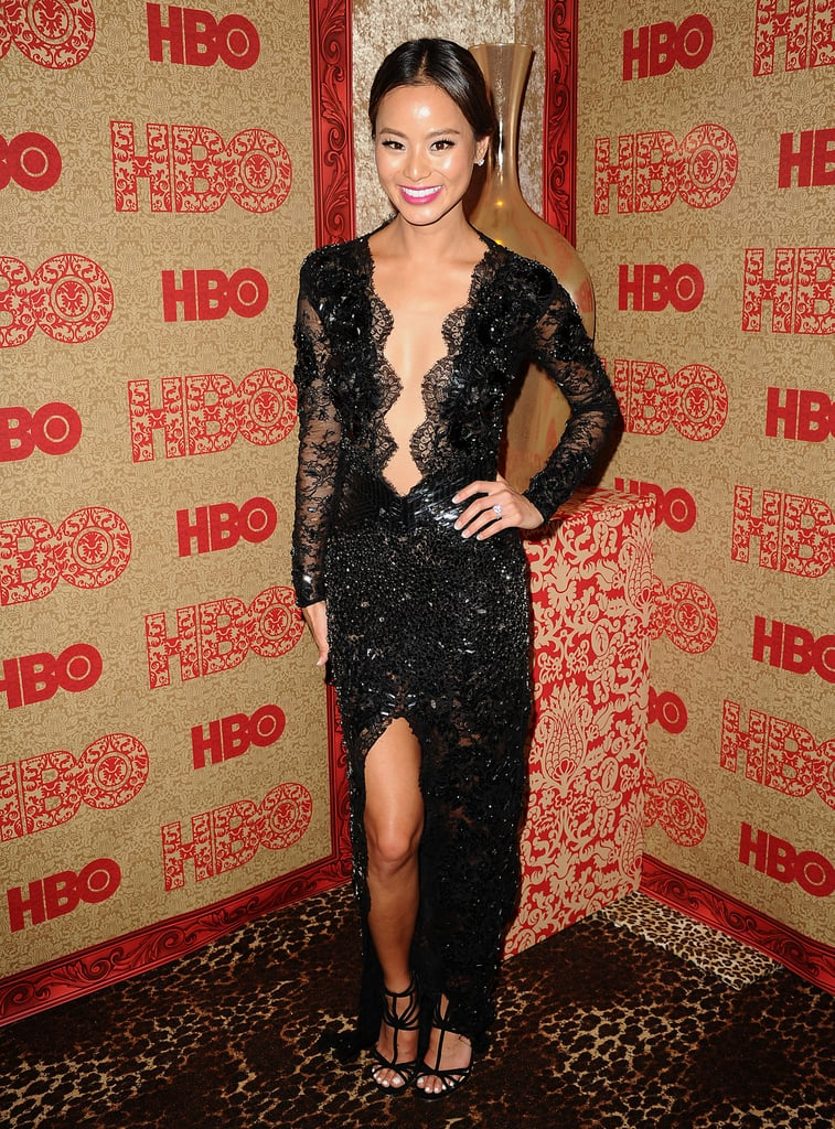 Jamie Chung at HBO's Golden Globes Afterparty