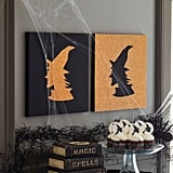 Witch Canvas Silhouette ($4-$6)