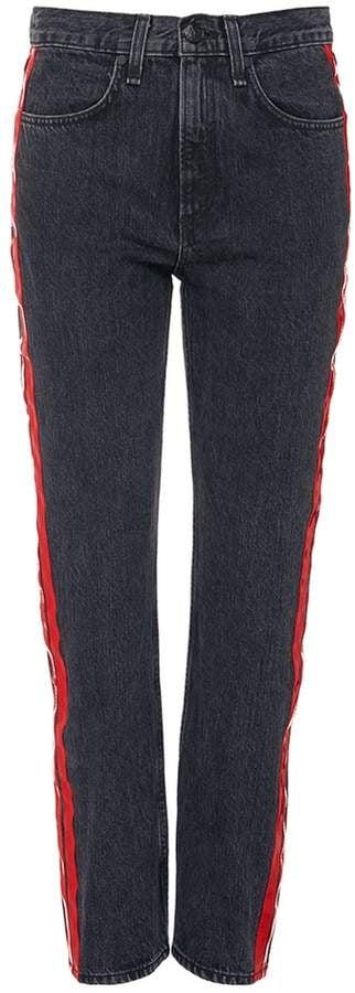 Rag & Bone Straight Stripe Outseam Jeans