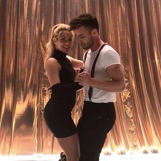 Shakira and Prince Royce Dancing Bachata