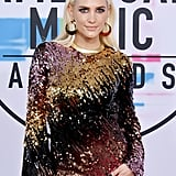Warning: You May Be Blinded by Ashlee Simpson's Sequined AMAs Dress