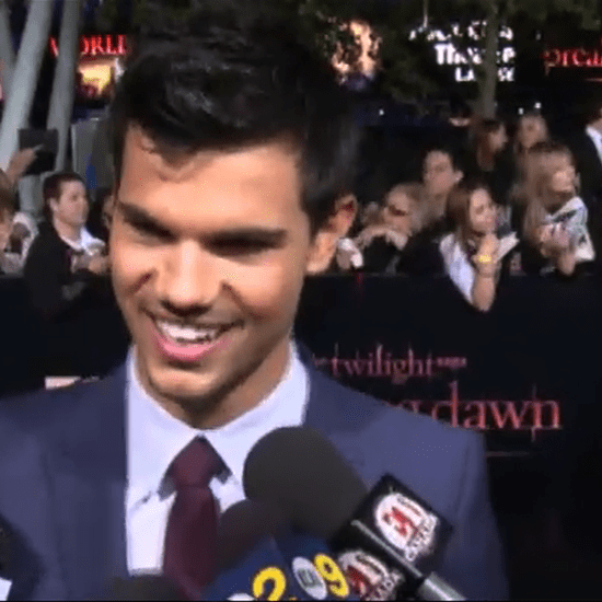 Taylor Lautner Video Interview at Breaking Dawn