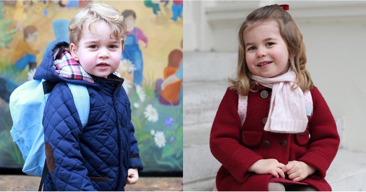 Hit Favorites School Days: Prince George And Princess Charlotte Nursery School