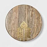 (New) Cravings by Chrissy Teigen Lazy Susan With Metal Decoration