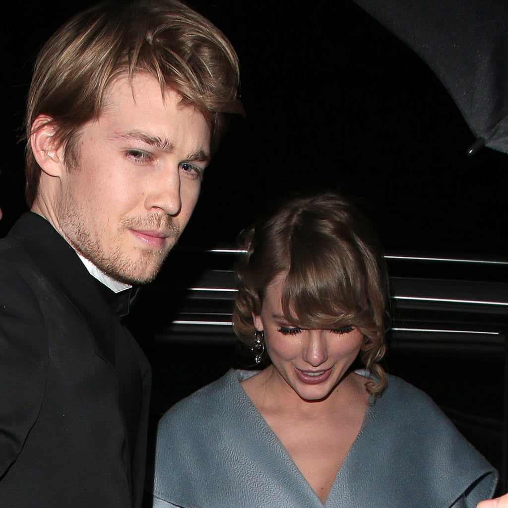 Taylor Swift and Joe Alwyn at the BAFTA Awards