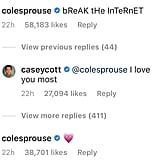 Cole's Response