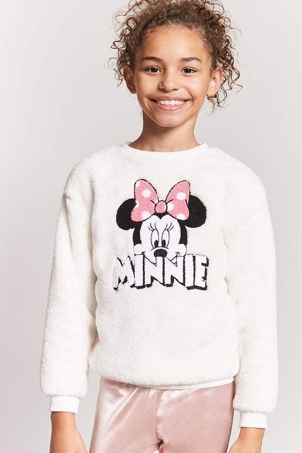 Forever 21 Plush Minnie Sweatshirt
