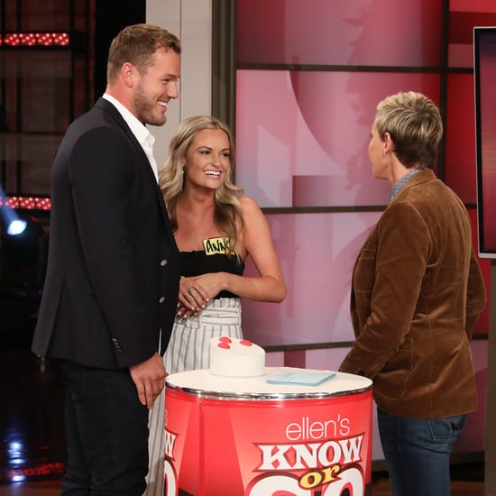 Colton Underwood Meets Bachelor Contestants on Ellen Video