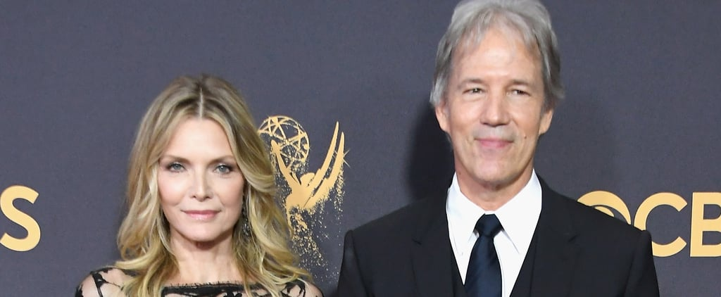 Michelle Pfeiffer and David E. Kelly at 2017 Emmys