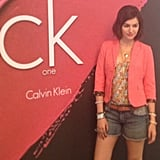 Camilla Belle stopped in at the CK One Color Lounge at the Hard Rock Hotel for a manicure, and we spotted her posing for the camera. We love her short hair!  Source: Instagram user POPSUGARBeauty