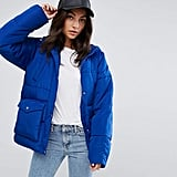 ASOS Puffer With Pocket Detail