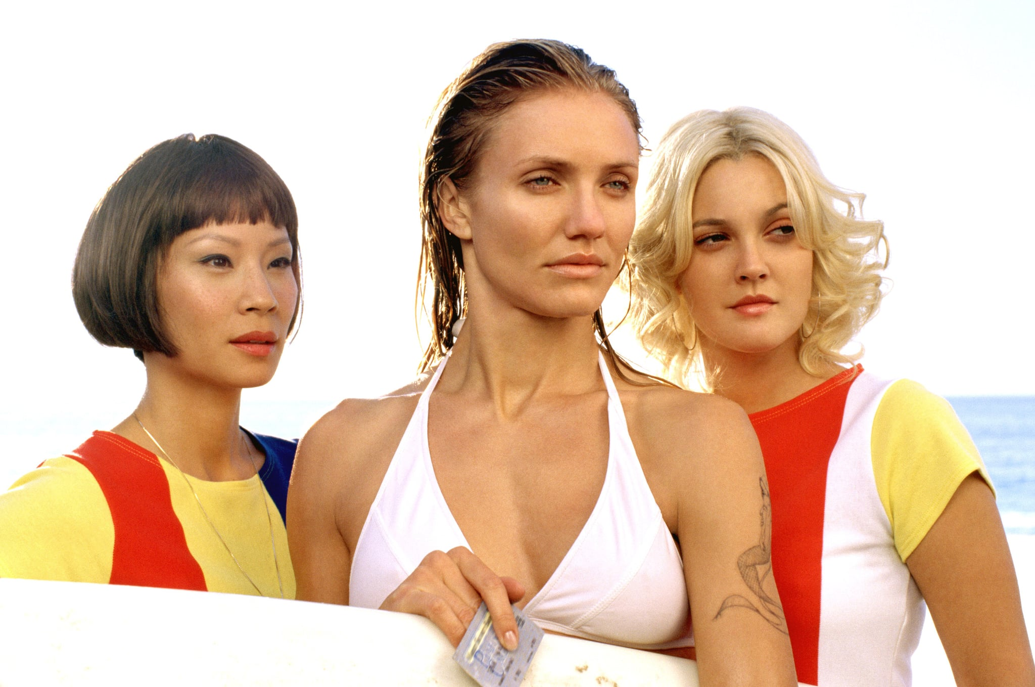 CHARLIE'S ANGELS: FULL THROTTLE, Lucy Liu, Cameron Diaz, Drew Barrymore, 2003, (c) Columbia/courtesy Everett Collection
