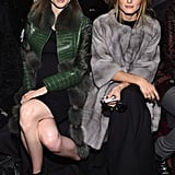 Coco Rocha and Olivia Palermo at NYFW