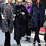 Cate Blanchett, Sandra Bullock, and Helena Bonham Carter strolled the streets of NYC on Oct. 26. Nothing to see here, people.