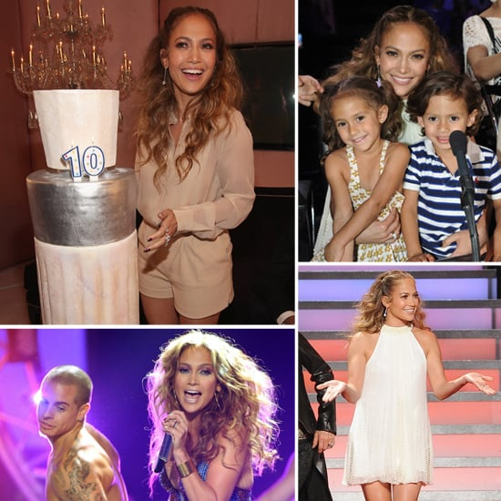 Jennifer Lopez Takes the Stage With Casper and Celebrates 10 Years With Coty