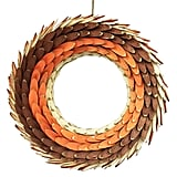 Harvest Wooden Wreath