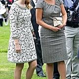 Princess Beatrice and Princess Eugenie, Epsom Derby 2012
