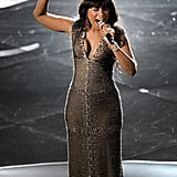 "Jennifer Hudson sang ""And I Am Telling You"" at the 2013 Oscars."