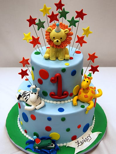 Fun Animal Birthday Cake Unique Birthday Cakes For Baby and