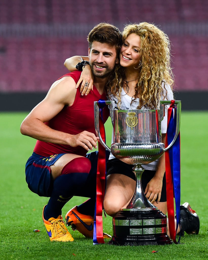 Shakira Wedding: Shakira And Gerard Pique Copa Del Rey 2015 PDA