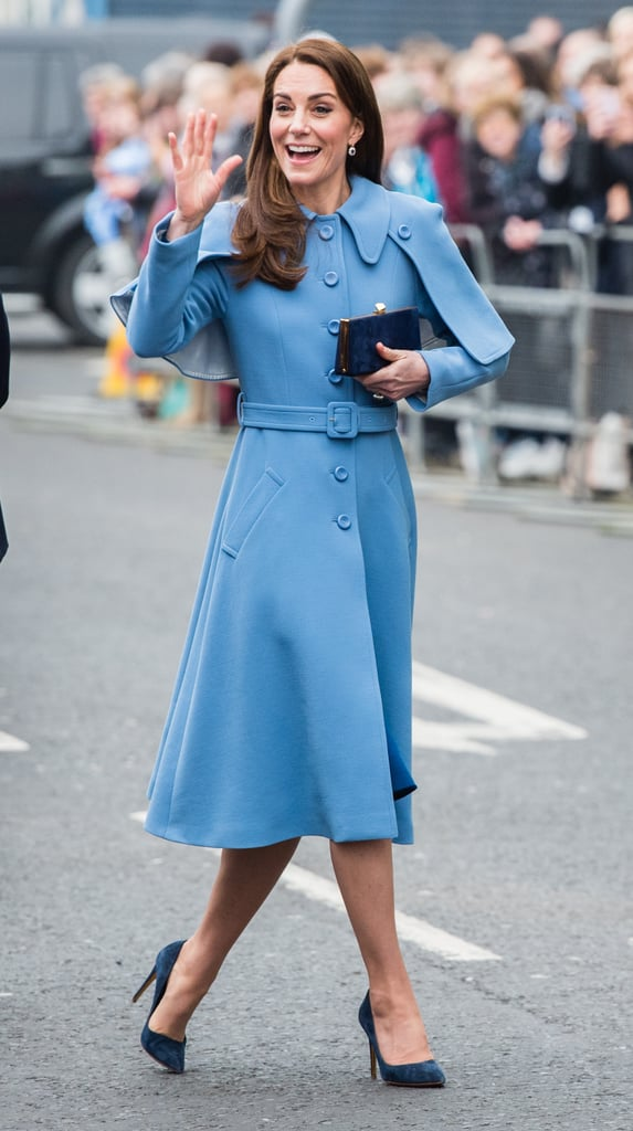 We're Pretty Sure Kate Middleton Has More Blue Coats Than Anyone Else on Earth