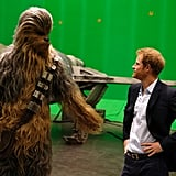 When He Had a Casual Chat With Chewbacca
