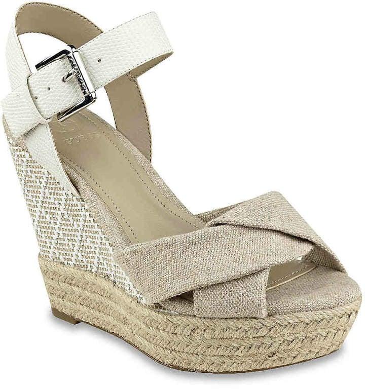 b695ad553be6 Guess Women s Sanda Wedge Sandal