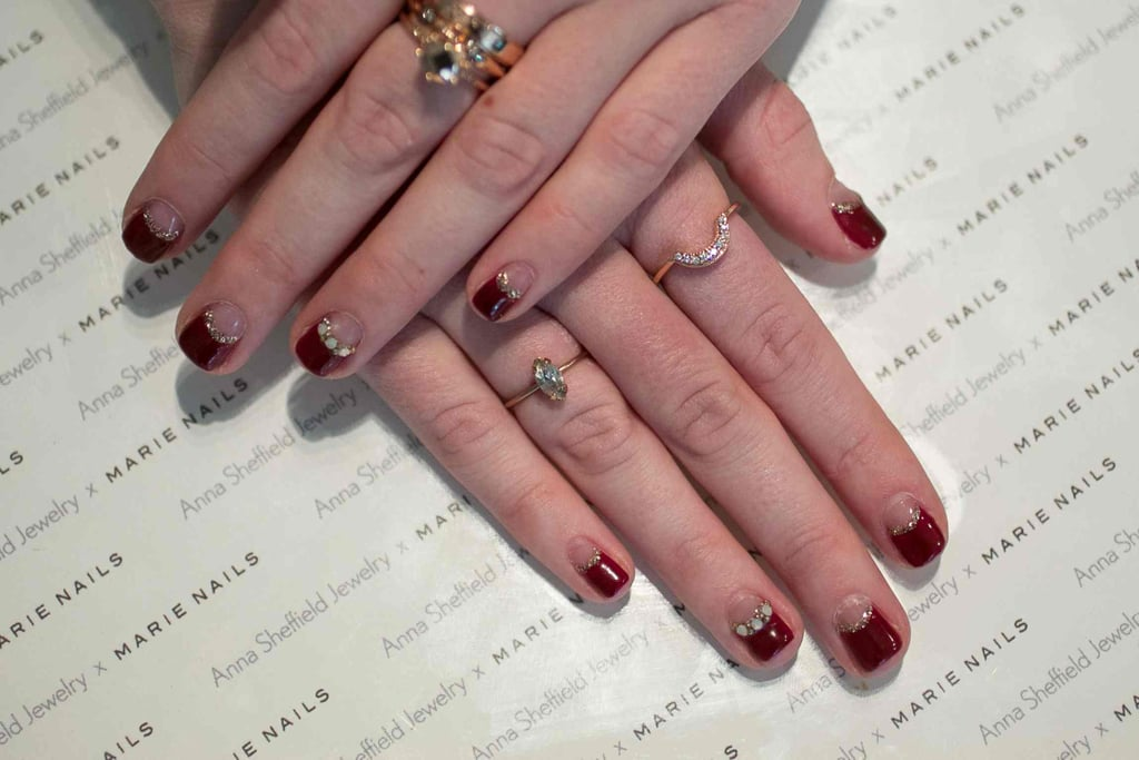 Anna Sheffield x Marie Nails | Indie Wedding Nail Art Ideas ...