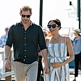 Prince Harry and Meghan Markle on Fraser Island Photos 2018