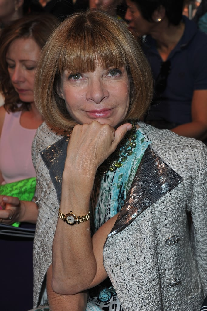 Anna Wintour at Christian Dior