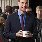 On Friday, Prince William made an appearance at the St. Basils, an organization that assists homeless youth, in Birmingham, England.