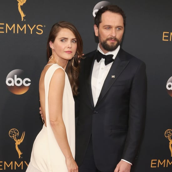 Keri Russell and Matthew Rhys at the 2016 Emmys