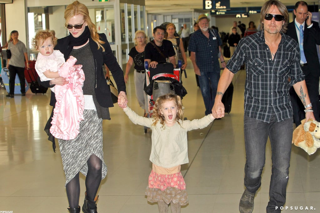 Nicole Kidman And Keith Urban Arrived In Sydney With