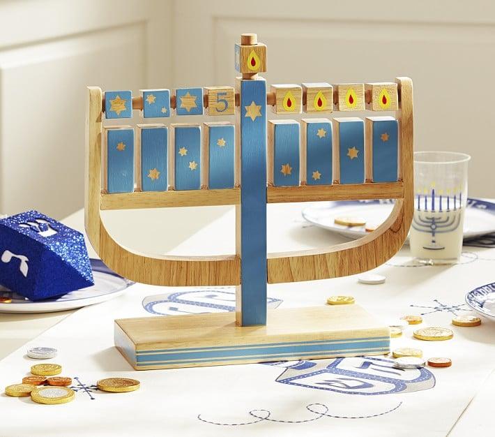 Pottery Barn Kids Play Menorah Hanukkah Gifts For Kids
