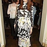 Gemma Chan at a London Fashion Week Party