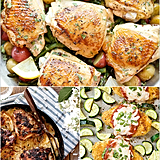 Get the recipes: one-pan chicken recipes