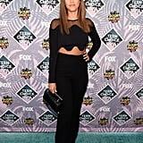 Jessica Alba's Crop Top at the Teen Choice Awards 2016